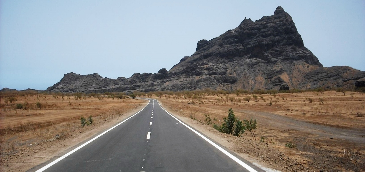 On the road network of Cape Verde