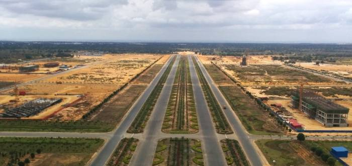 NEW INTERNATIONAL AIRPORT OF LUANDA - NAIL